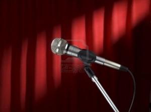 microfono palco
