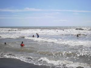 spiaggia tarquinia mare