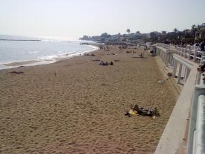 spiaggia passeggiata s. marinella