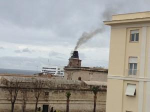 inquinamento nave
