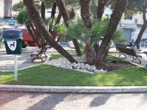 S marinella nuovo look per piazza civitavecchia - Ciottoli bianchi giardino ...