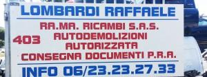 rama ricambi autodemolizioni roma
