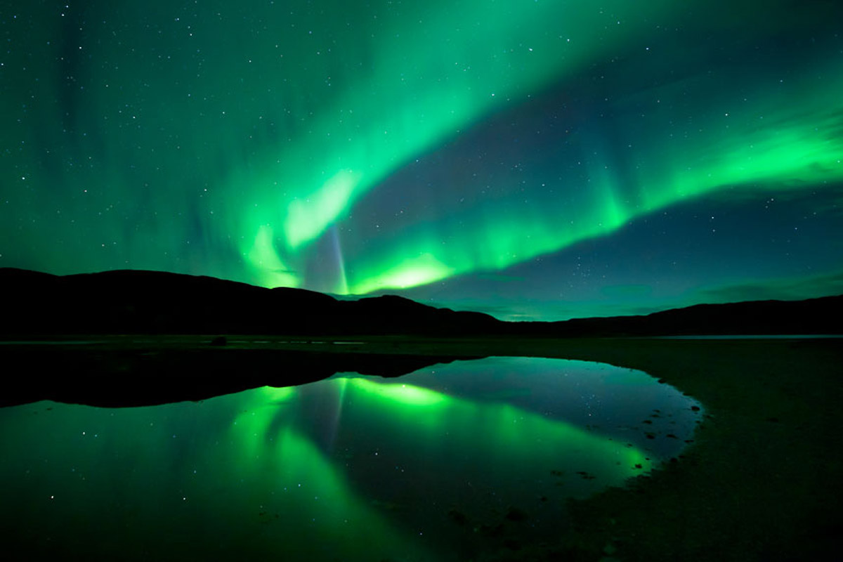 Aurora boreale centumcellae news for Sfondi aurora boreale