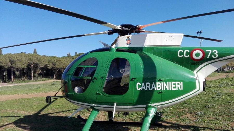 Prima Aereo O Elicottero : Cerveteri elicottero dei carabinieri forestali in