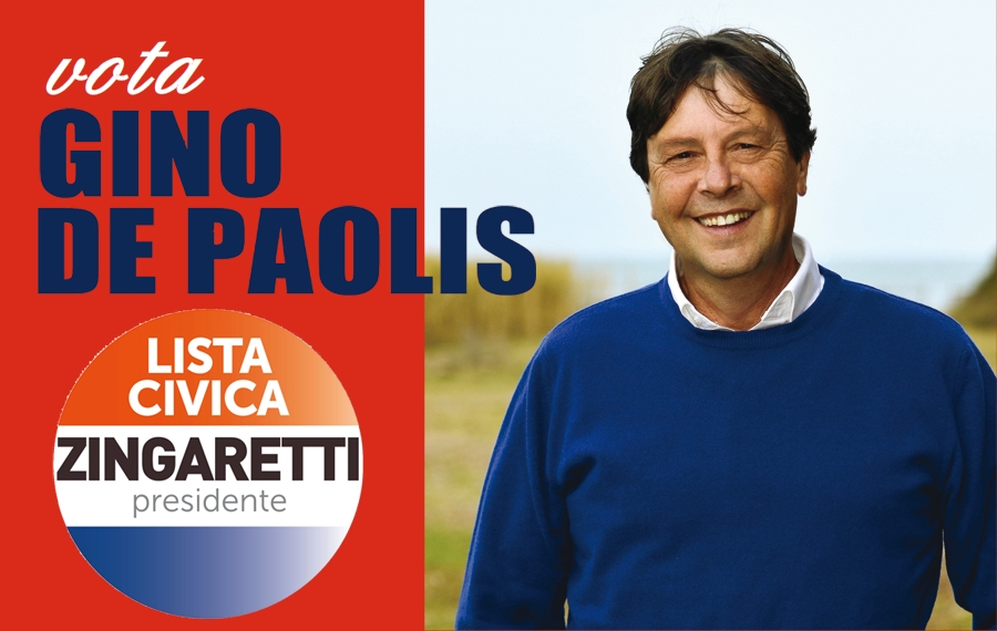 gino del paolis candidato consigliere regionali lazio 2018