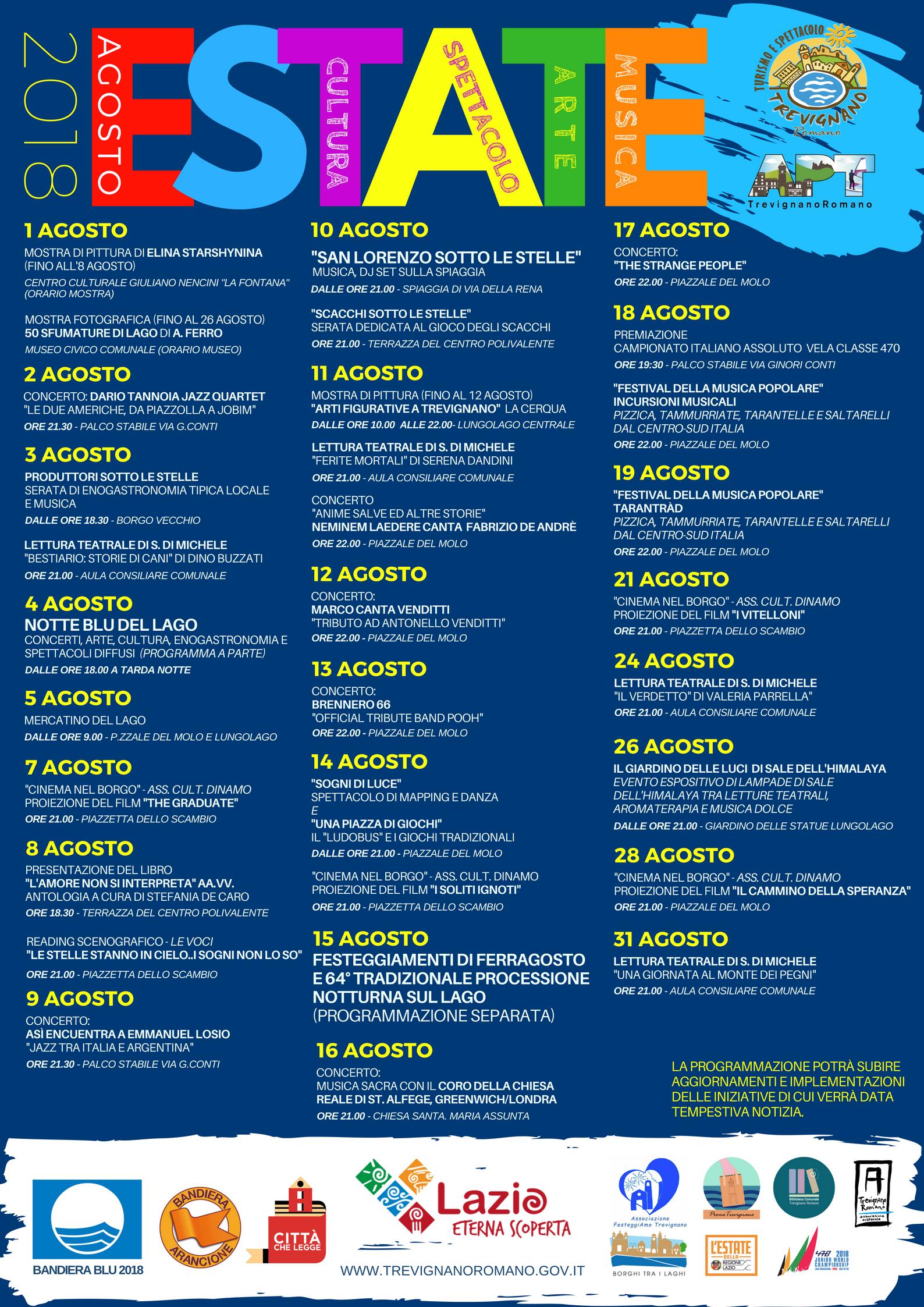 Agosto a Trevignano Romano | Centumcellae News